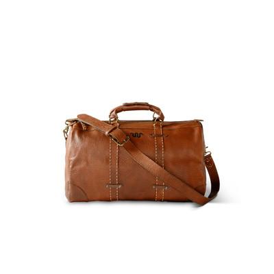 Saddle Stitch Leather Duffel